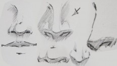 drawing noses - Google Search