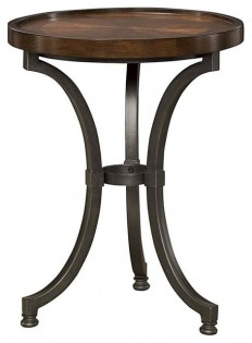 Hammary Furniture Round Chairside Table - Side Tables And End Tables | Houzz