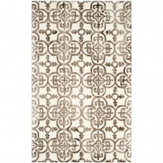 Safavieh Dip Dye Ivory/Brown 6 ft. x 9 ft. Area Rug-DDY711F-6 - The Home Depot