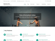 Business Era — Free WordPress Themes
