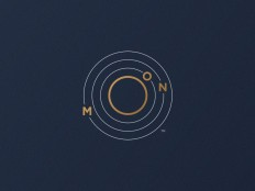 Moon Logo (Orbit) by Jorge Rico on Inspirationde
