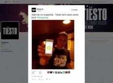 DJ Tiësto Snapchat