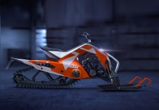 KTM X2 HYBRID, SNOWMOBILE + ATV on