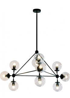 Brockton 10 Light Chandelier, Pendants, Contemporary, New Zealand's Leading Online Lighting Store