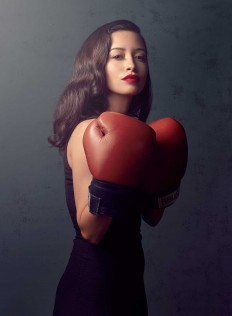 Gorgeous Celebrity Portraits by Justin Bettman