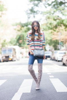 Knee-High Boot Camp - Something Navy