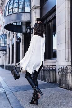 Annabelle Fleurcreates a classic rocker chick... - Street Style & Fashion Tips