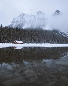 Lake Louise, Alberta by Nick La Cava on Inspirationde