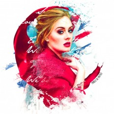 Adele by Marco De Matteo on Inspirationde