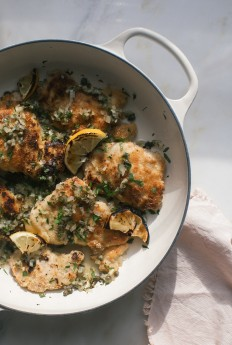 Almond-Crusted Chicken Piccata – A Cozy Kitchen