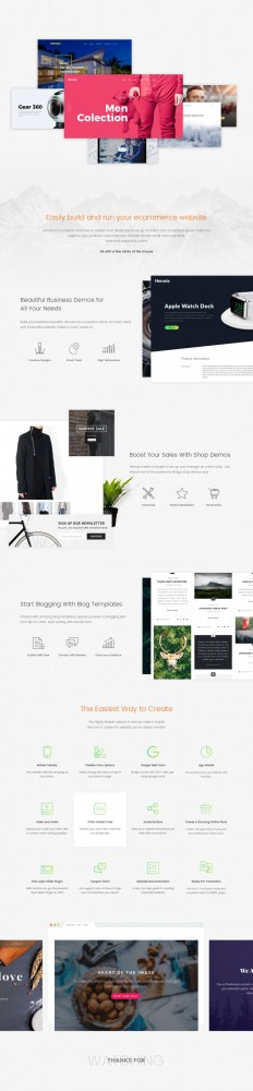 Easily build and run your Ecommerce website on Inspirationde