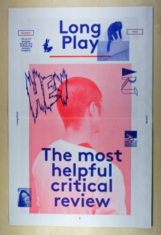 Long Play Newspaper, 2013 on Inspirationde