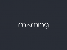 Clever Logo Morning Wordmark / Verbicons by Duminda Perera on Inspirationde