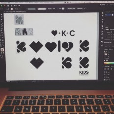 Logo process – Kids Clubhouse on Inspirationde