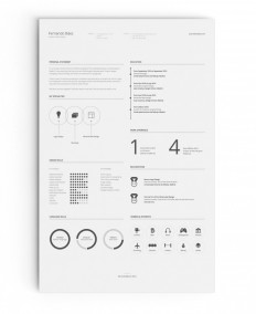FREE Resume Template on Inspirationde