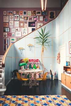 Pink and Blue – Chris's House on Inspirationde