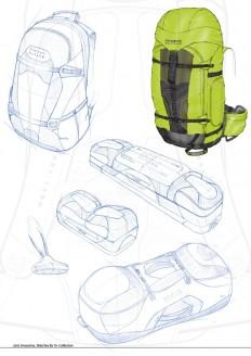 Drawings by Joris Smeuninx at Coroflot.com
