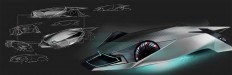 2040 Peugeot Andreau 909 by Leo Yamazaki   Cars Concept