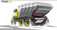 Volvo future truck on