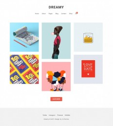 Dreamy – Biggest Portfolio on Inspirationde