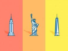 NYC icons by Matt Chalwell - Dribbble