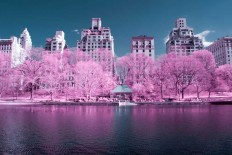 NYCxIR: Ryan Berg Captured Stunning Photos of New York City in Infrared