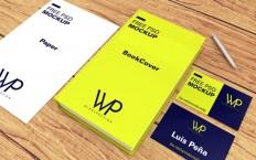 Free Book, Cards & Paper Mockup PSD - Free Download | Freebiesjedi