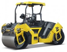 Bomag BW141AD-5, BW151AD-5 tandem vibratory rollers feature crab-walk, intelligent design | Better Roads | Write to Live ?? | Pinterest