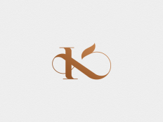 K x & monogram by NewDay on Inspirationde