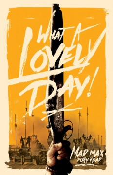 Mad Max: Fury Road Film Poster on Inspirationde