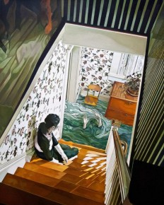 Beside You: Narrative and Melancholic Paintings by Jolene Lai