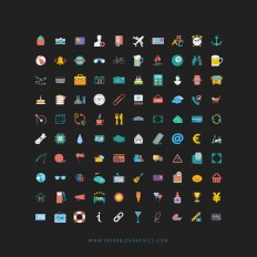 Colorful Web Design Icons ~ EpicPxls