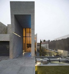 Modern Architecture Open Box House by A-cero on Inspirationde
