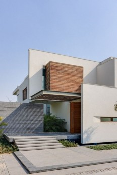 Stunning Cubic House in New Delhi, India on Inspirationde