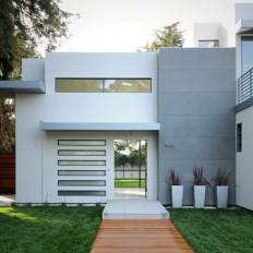 Contemporary House in Palo Alto, California on Inspirationde