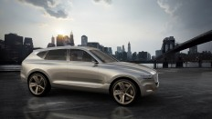 The Luxurious Genesis GV80 SUV Concept Runs On Magic Or Some Shit