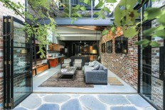 Old Garage with Heritage Façade Finds New Life as a Fabulous Family Home