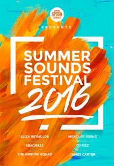 Create a Music Festival Poster Design in Photoshop on Inspirationde