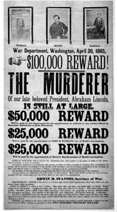 Image:John Wilkes Booth wanted poster new.jpg - Wikipedia, the free encyclopedia