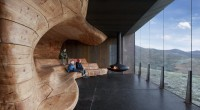 From Snøhetta, A Stunning Nature Pavilion That Evokes Eroded Rock | Co. Design