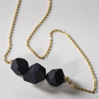 thefuturefuture — triple rock necklace