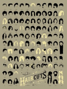 Infographic of the Day: 108 of the Best Haircuts in Music History | Co.Design
