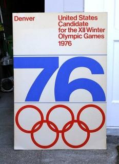 1976 Denver Winter Olympics Poster | AisleOne