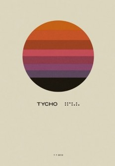 OMG Posters! » Archive » Tycho Show Posters by ISO50