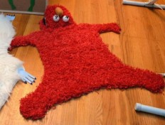 this isn't happiness™ (Elmo rug), Peteski