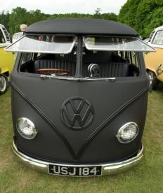 Jay Mug — Matte Black Volkswagen T1