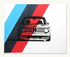 Jay Mug — BMW 2002 Turbo Headshot - M Colors