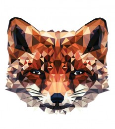 Striking And Vibrant Geometric Vector Illustrations Of Animals - DesignTAXI.com