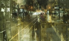 Gritty New Cityscapes by Jeremy Mann | Colossal