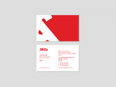 J&Co / Business cards by Deividas Bielskis